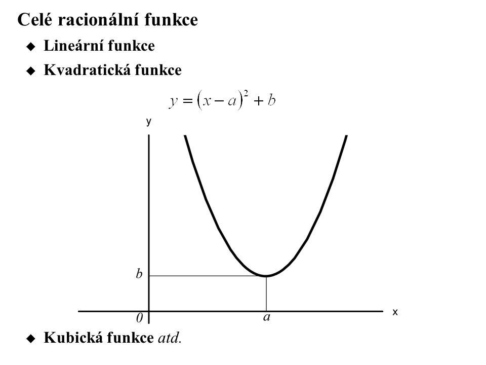Celé racionální funkce