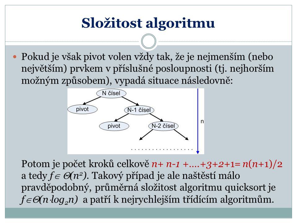 Složitost algoritmu