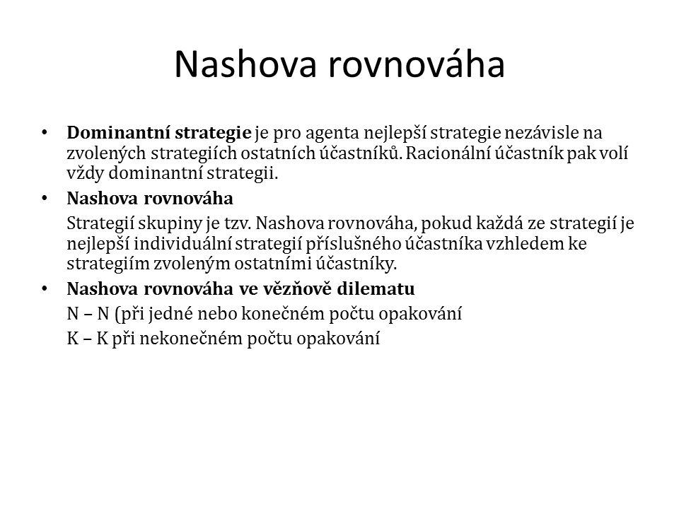 Nashova rovnováha