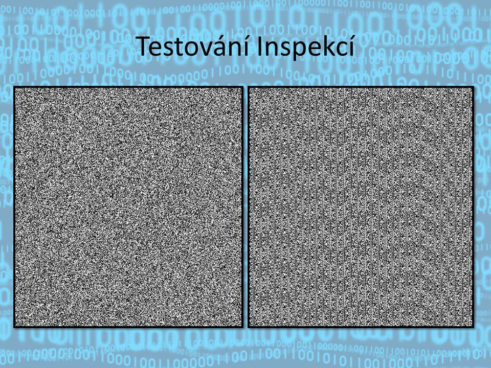 Testování Inspekcí