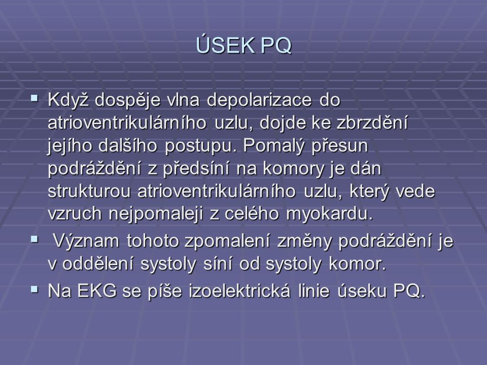 ÚSEK PQ