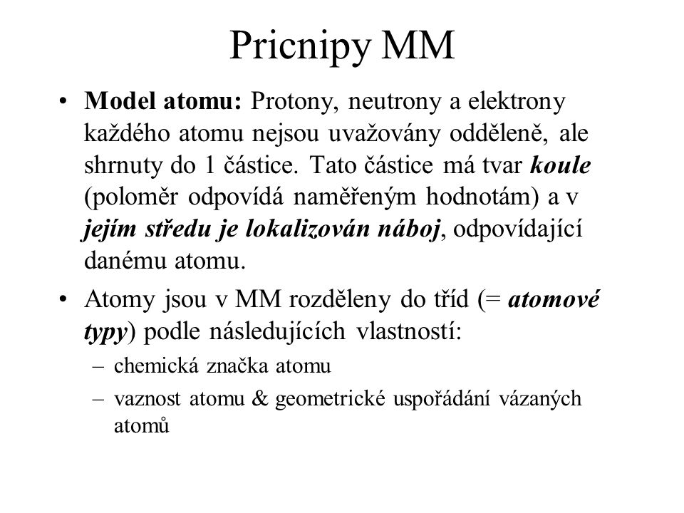 Pricnipy MM