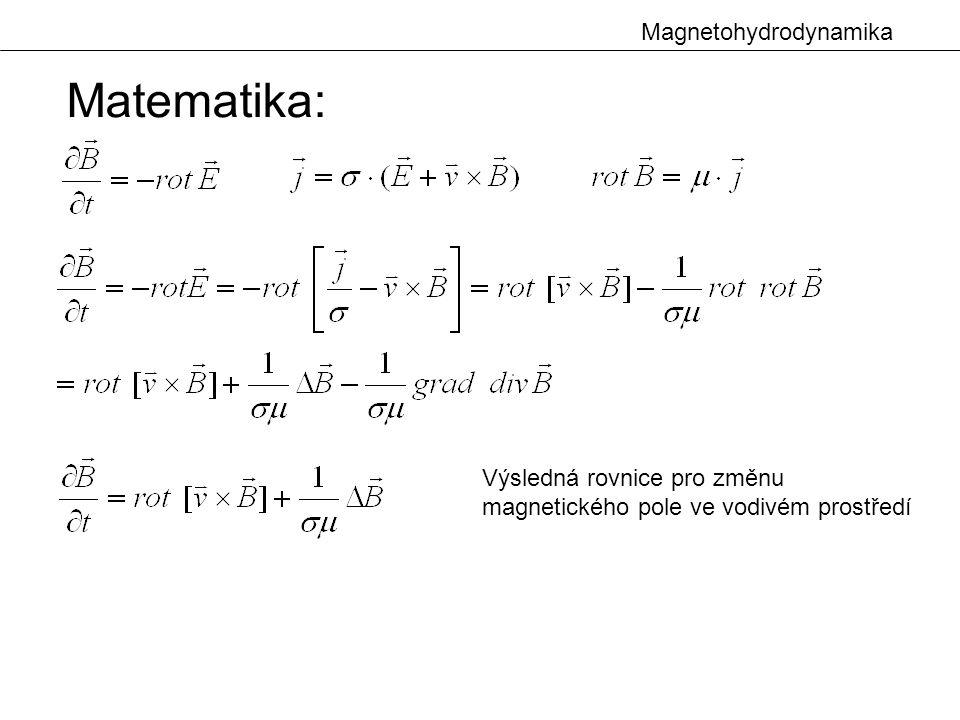 Matematika: Magnetohydrodynamika