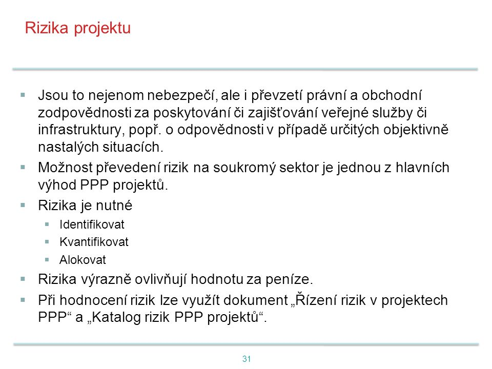 Rizika projektu