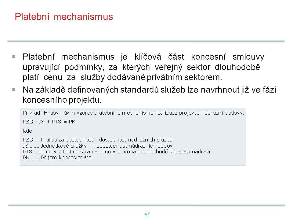 Platební mechanismus