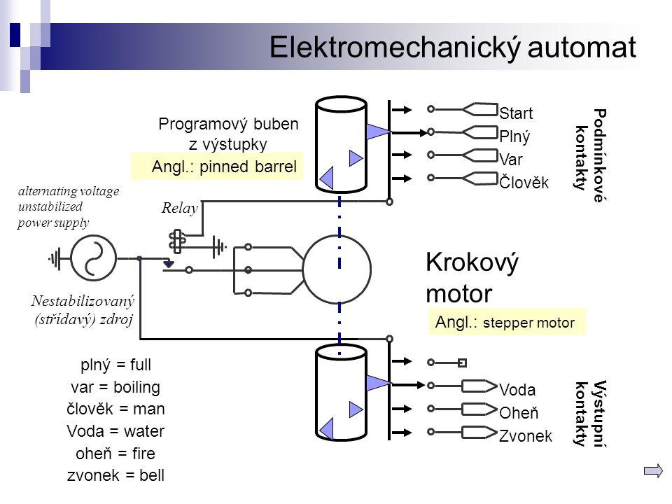 Elektromechanický automat