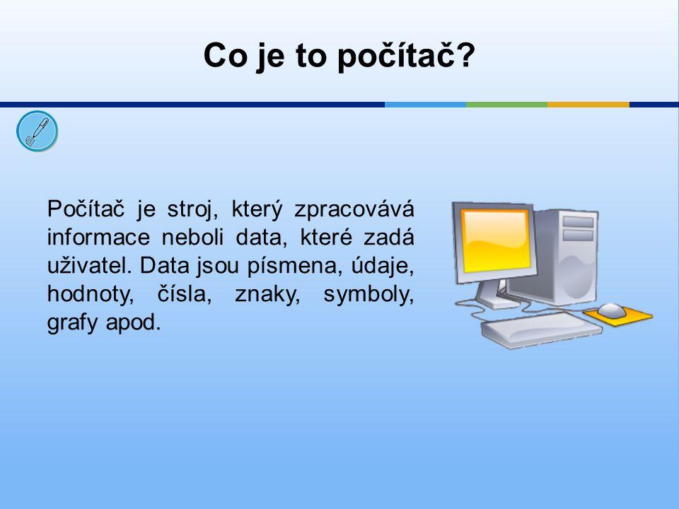 Co je to počítač