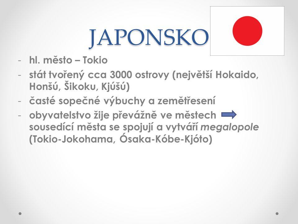 JAPONSKO hl. město – Tokio