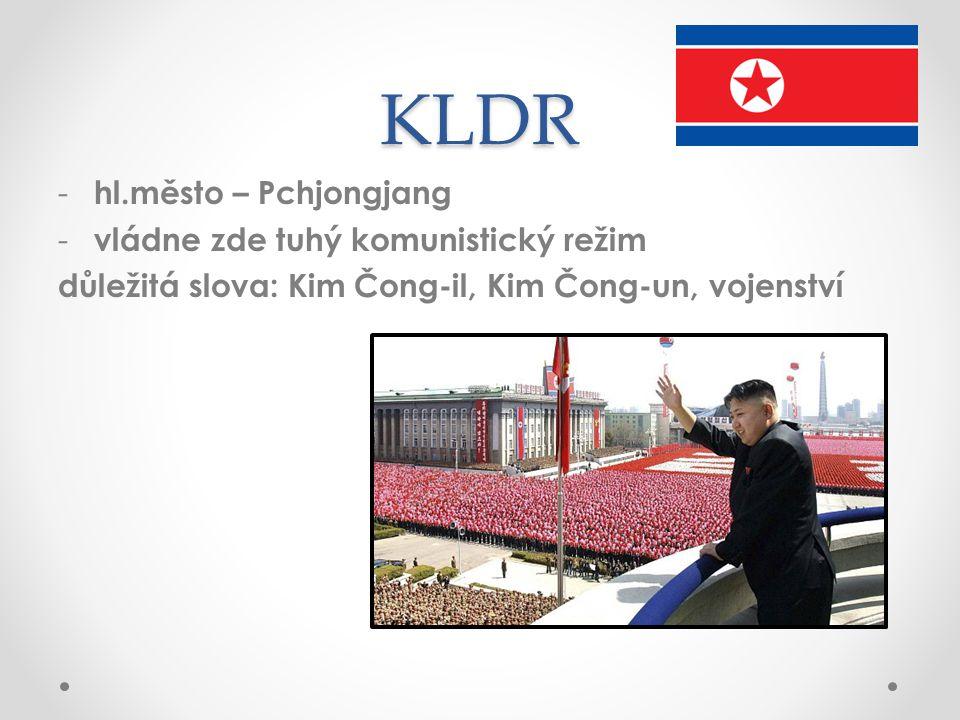 KLDR hl.město – Pchjongjang vládne zde tuhý komunistický režim