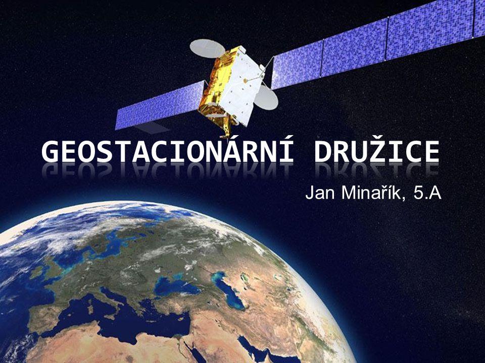 Geostacionární družice
