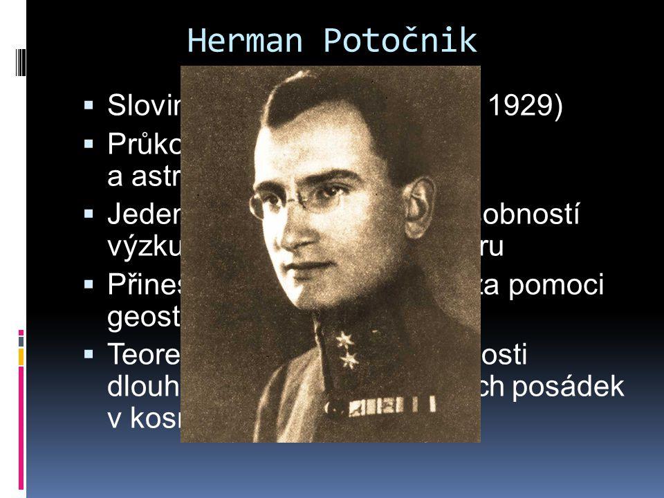 Herman Potočnik Slovinského původu (1892 – 1929)