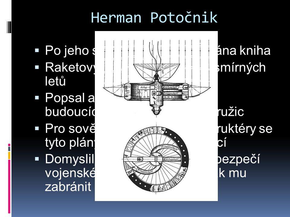 Herman Potočnik Po jeho smrti v roce 1929 vydána kniha