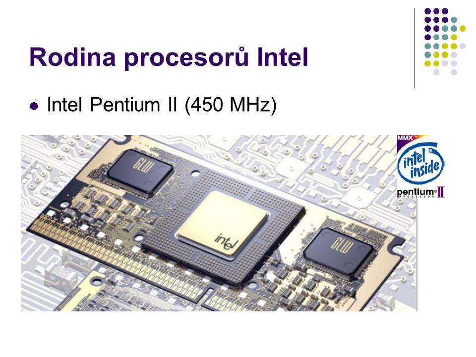 Rodina procesorů Intel
