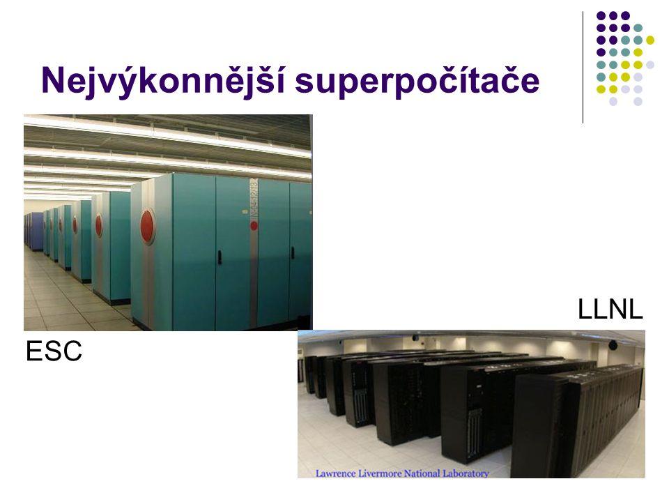 Nejvýkonnější superpočítače