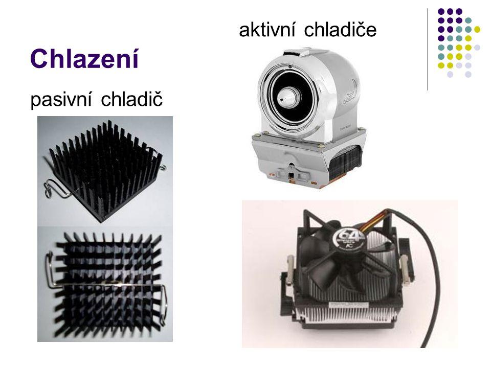 Chlazení aktivní chladiče pasivní chladič