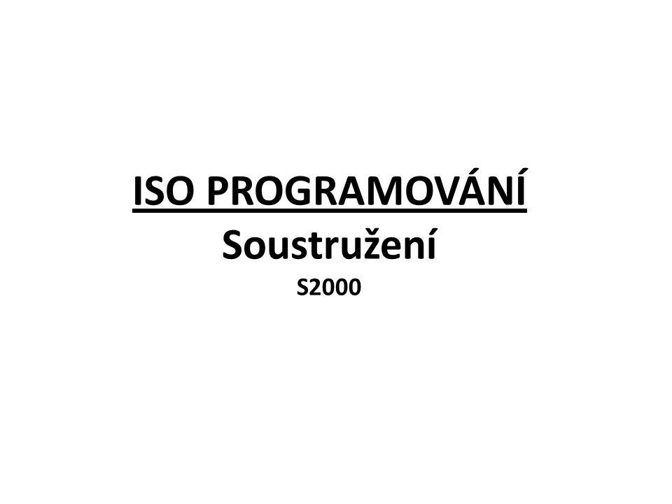 ISO PROGRAMOVÁNÍ Soustružení