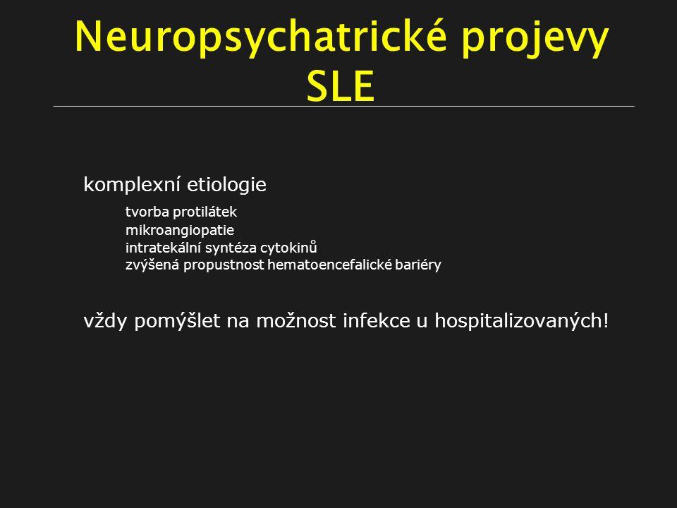 Neuropsychatrické projevy SLE