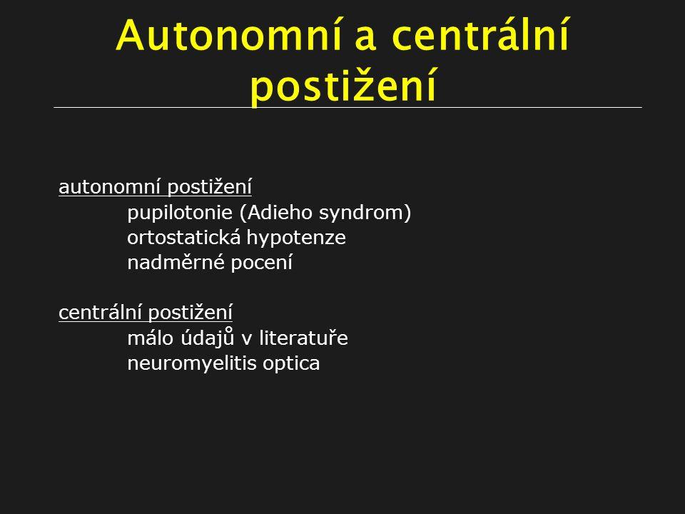 Autonomní a centrální postižení
