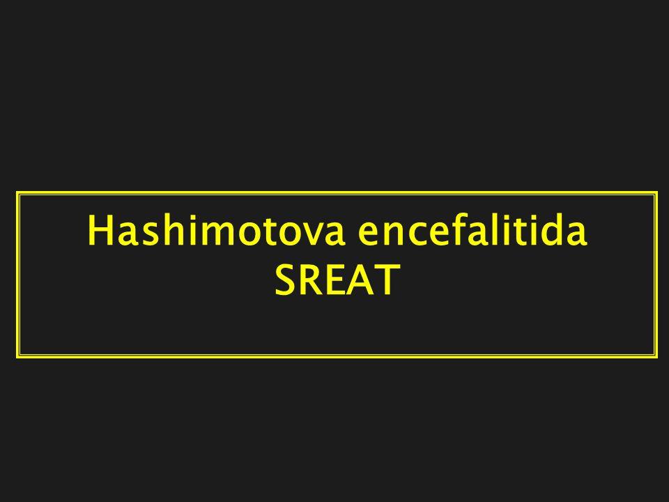 Hashimotova encefalitida SREAT