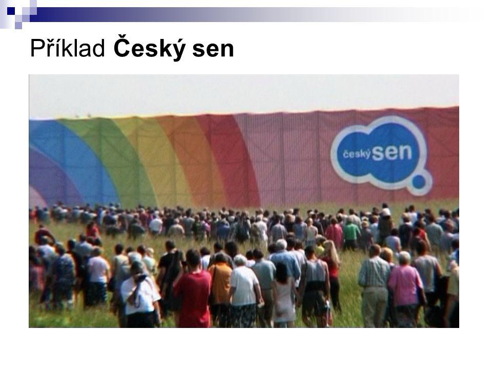 Příklad Český sen