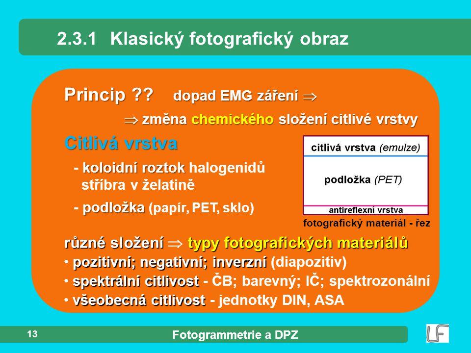 2.3.1 Klasický fotografický obraz