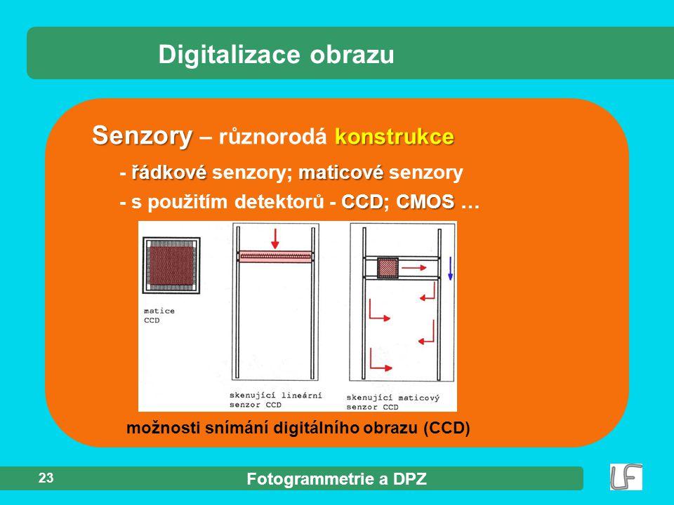 Senzory – různorodá konstrukce