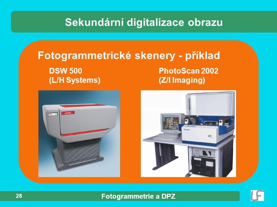 Sekundární digitalizace obrazu
