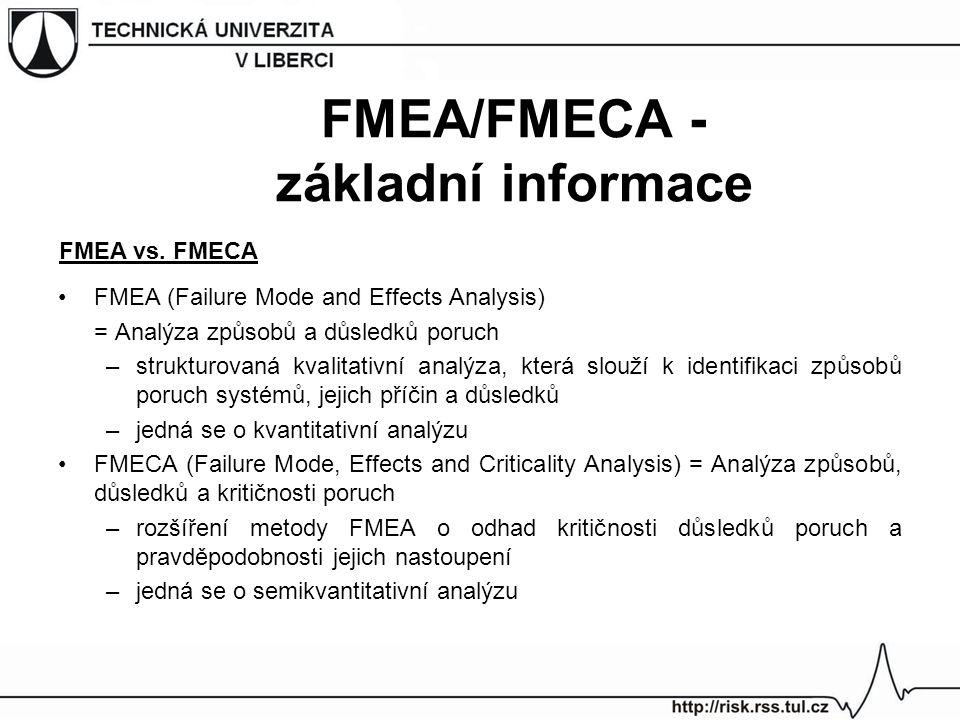 FMEA/FMECA -základní informace