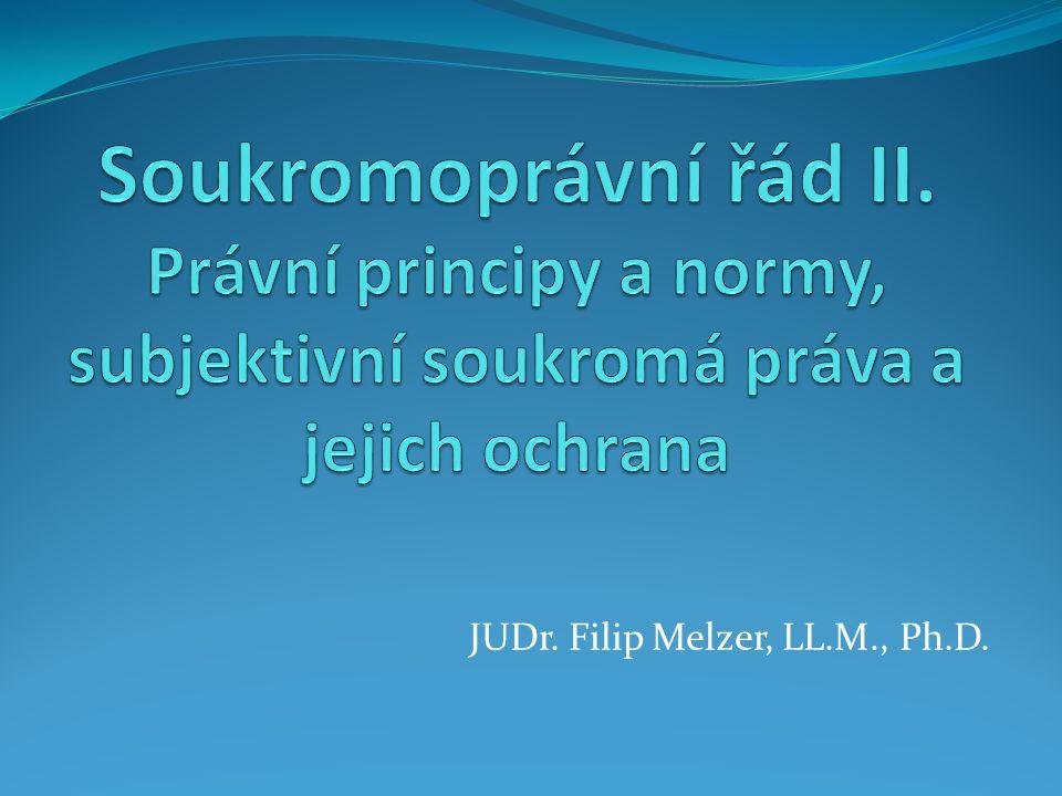 JUDr. Filip Melzer, LL.M., Ph.D.