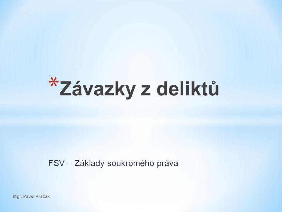 FSV – Základy soukromého práva