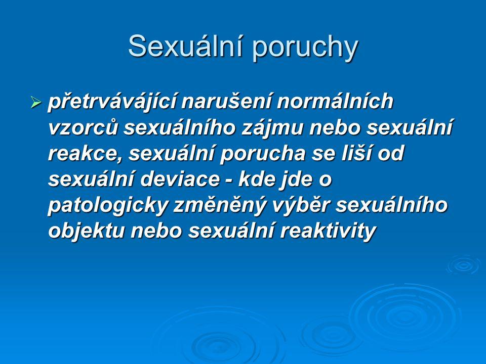 Sexuální poruchy