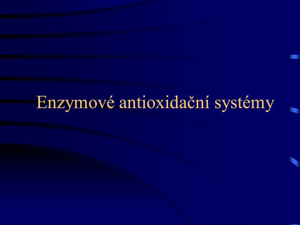 Enzymové antioxidační systémy