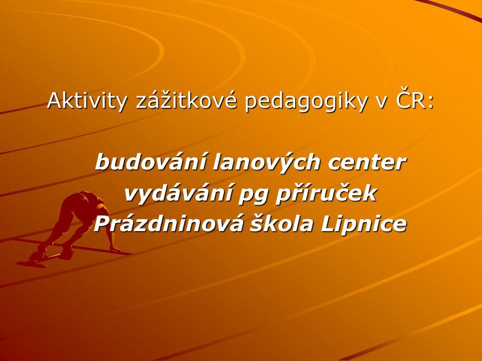 Prázdninová škola Lipnice