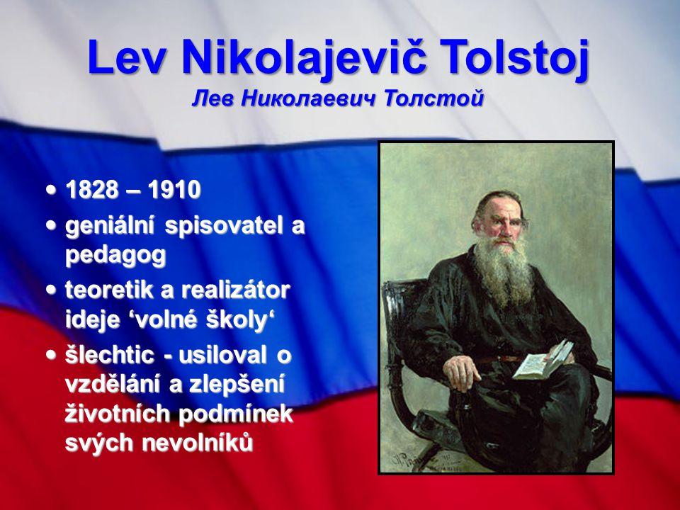 Lev Nikolajevič Tolstoj Лев Николаевич Толстой