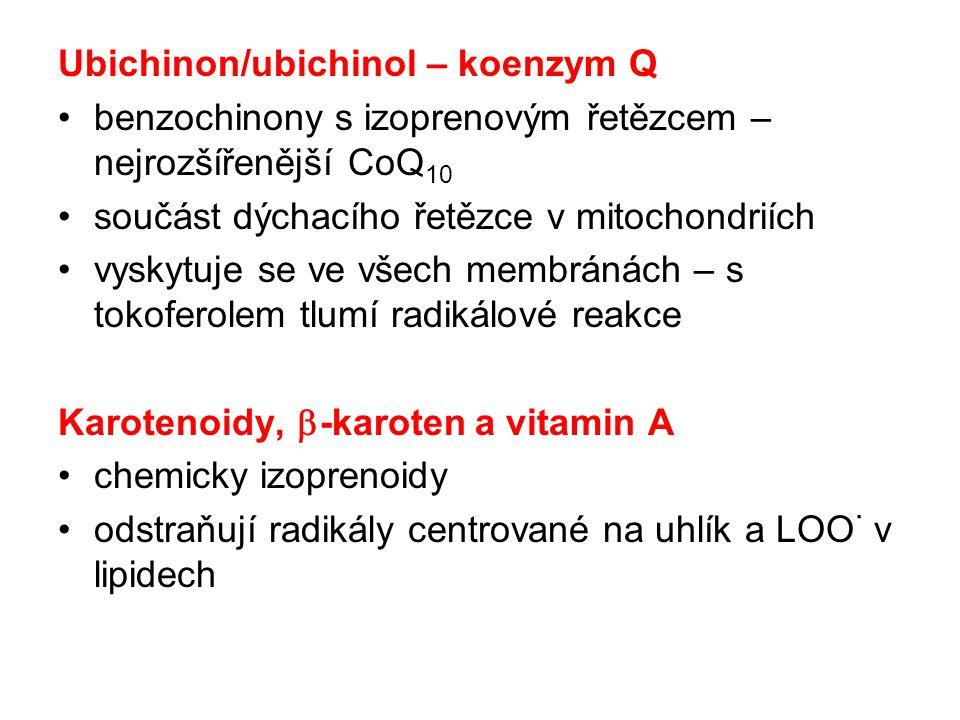 Ubichinon/ubichinol – koenzym Q