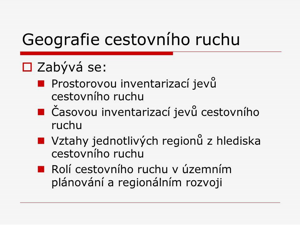 Geografie cestovního ruchu