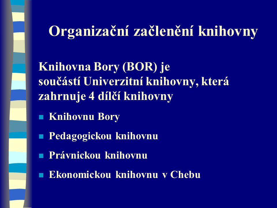 Organizační začlenění knihovny