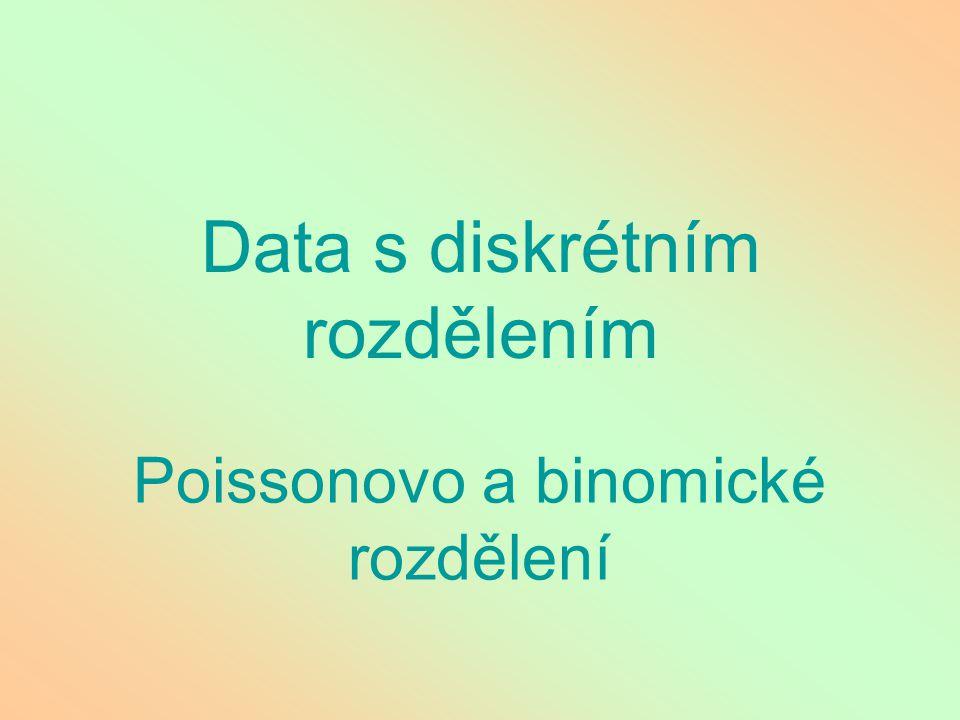 Data s diskrétním rozdělením