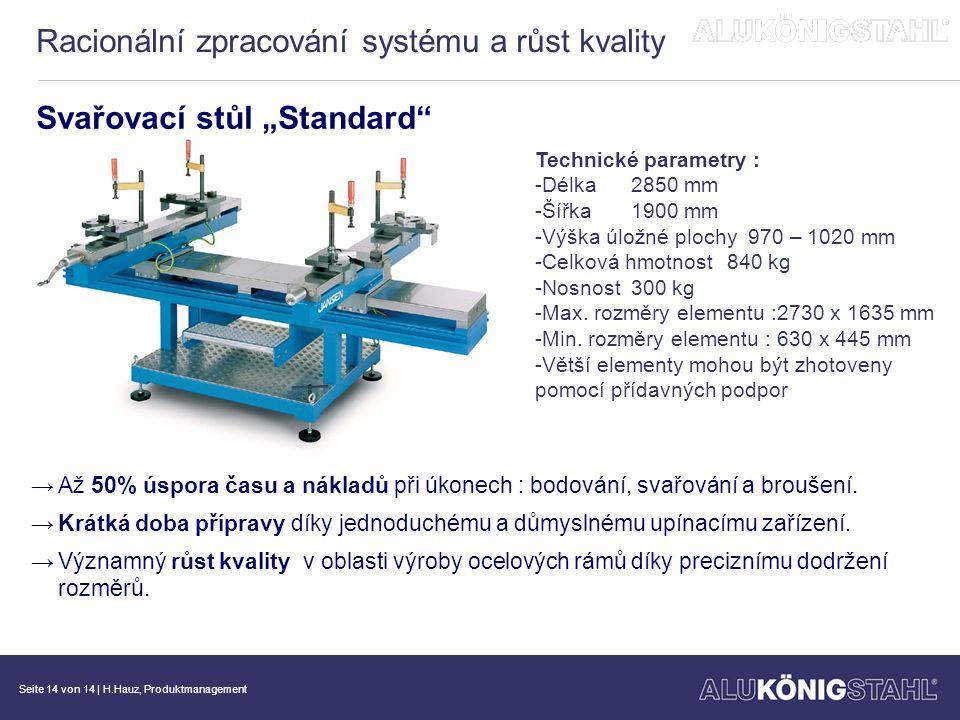 Racionální zpracování systému a růst kvality