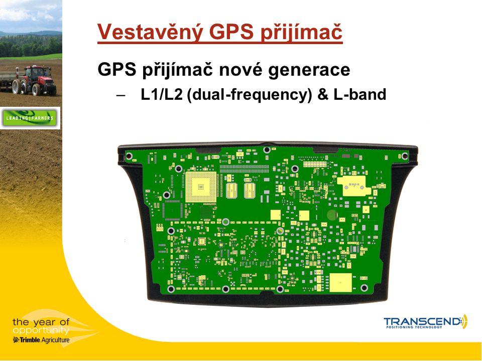 Vestavěný GPS přijímač