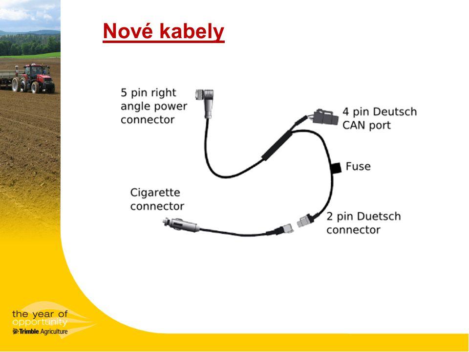 Nové kabely