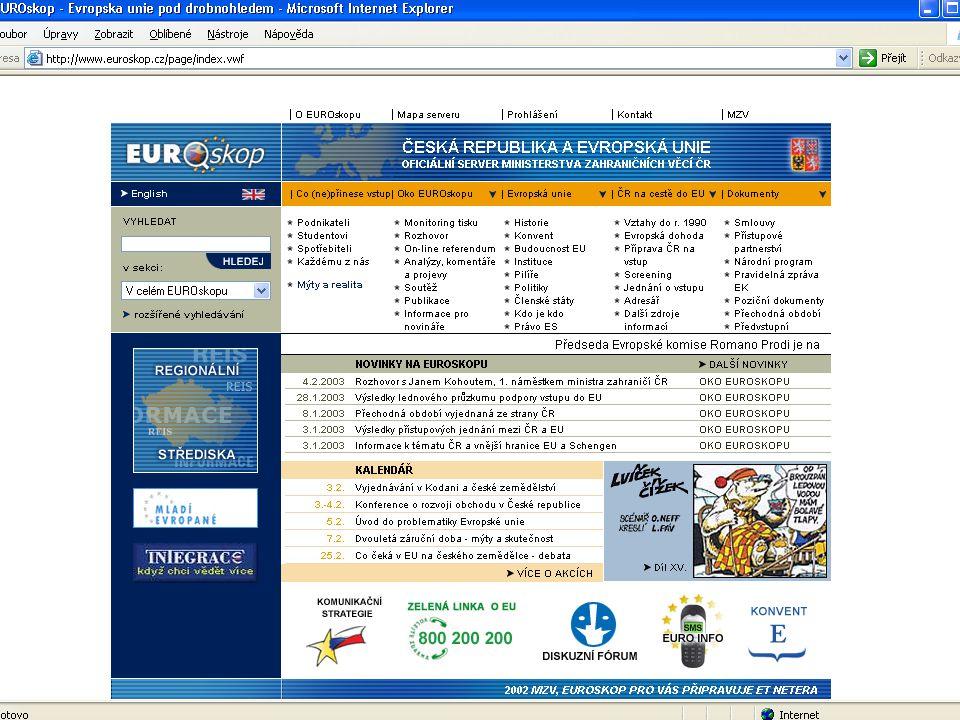 http://www.euroskop.cz Školení o EU - pracovníci REIS