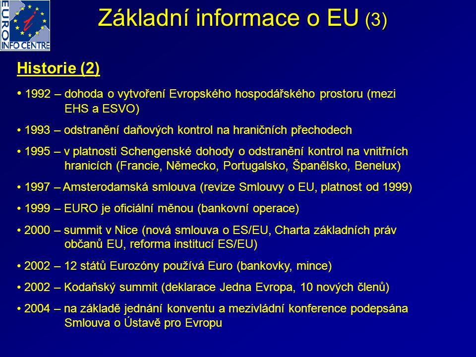 Základní informace o EU (3)