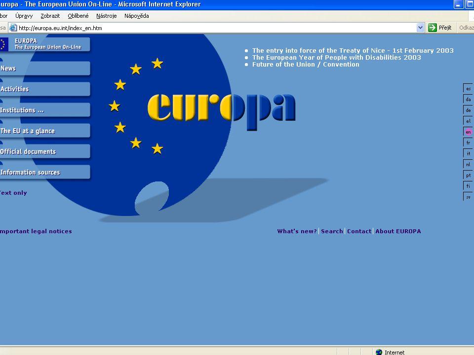 1. Základní informace o EU