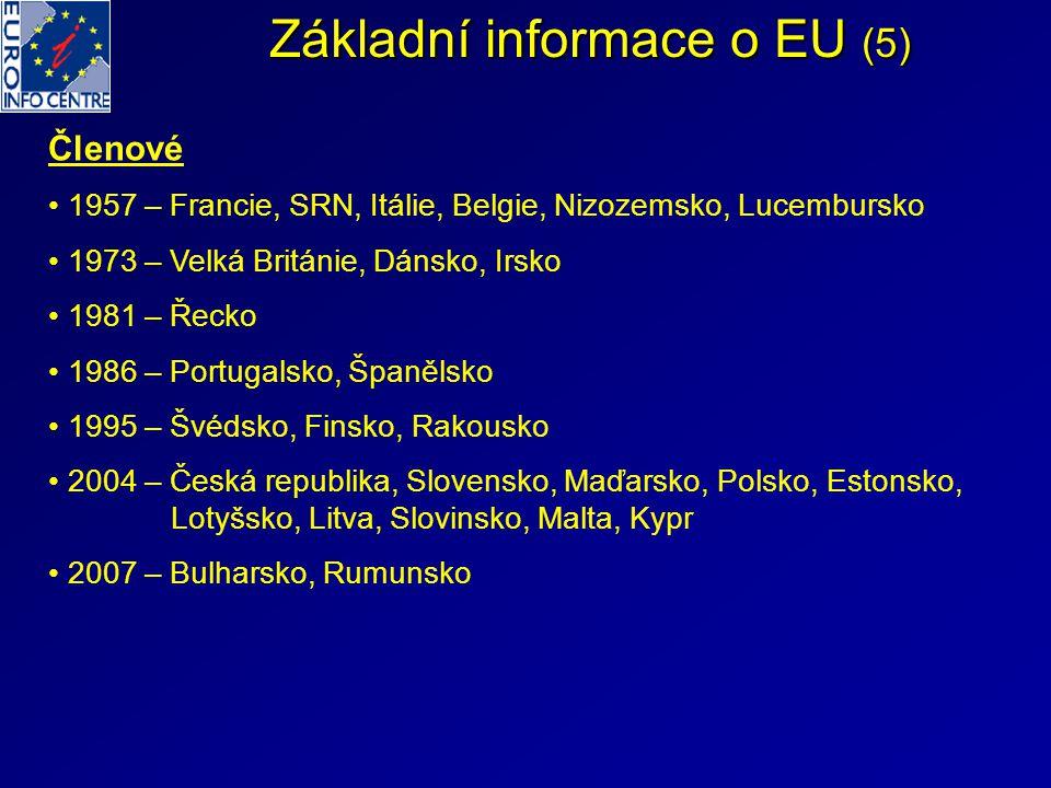Základní informace o EU (5)
