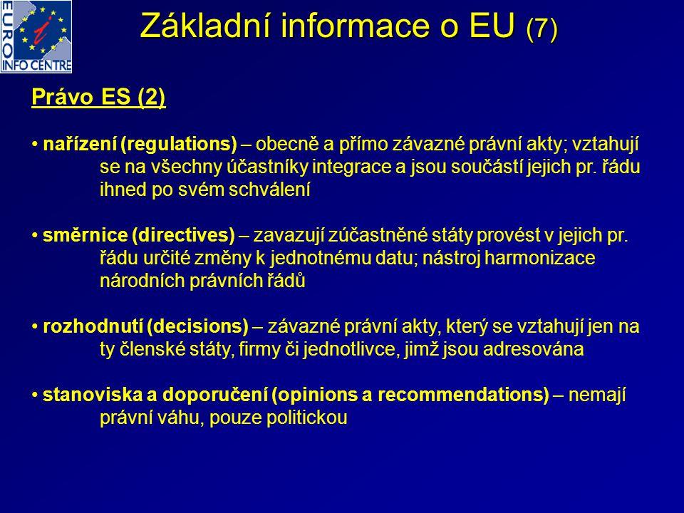 Základní informace o EU (7)