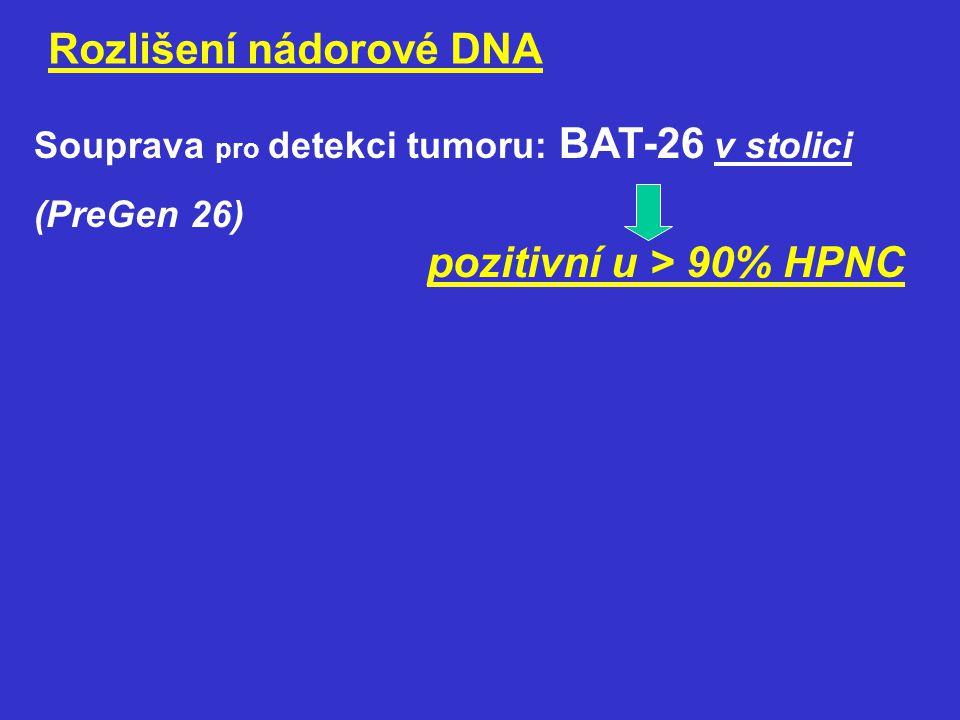 Rozlišení nádorové DNA
