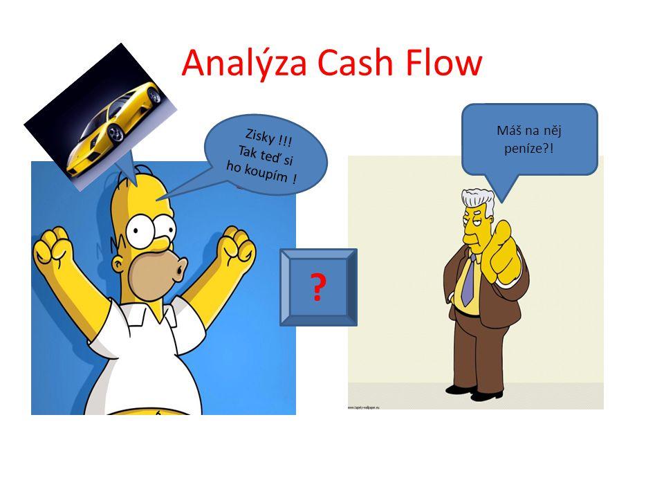 Analýza Cash Flow Máš na něj peníze ! Zisky !!!