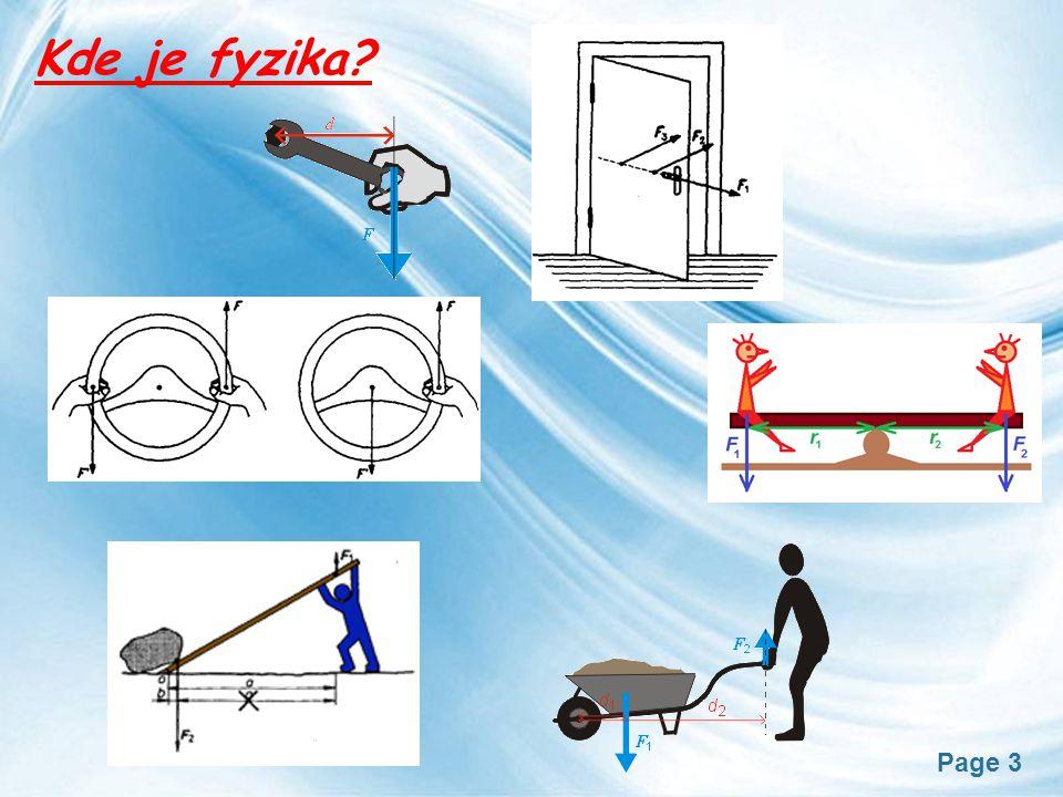 Kde je fyzika