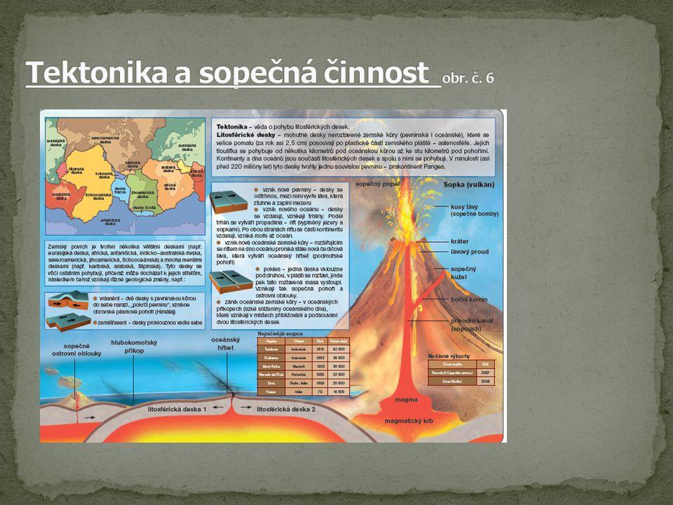 Tektonika a sopečná činnost obr. č. 6